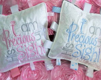 """Baby girl  keepsake baptism gift, Baby boy  Christening gif, can be personalized with name and date, approximately 10"""" square."""