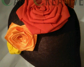 Rose Crown - Red, Orange and Yellow