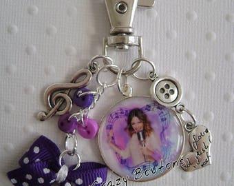 Key chain bag Violetta /bijou