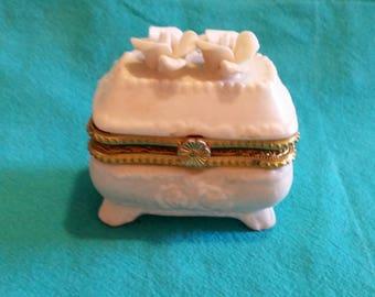 Petite Ceramic Jewel Box
