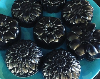 Activated Charcoal & Hemp Soap with Organic Manuka and Lavender Essential Oils