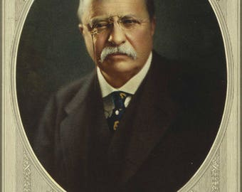 Poster, Many Sizes Available; President Theodore Roosevelt,Color Poster P15