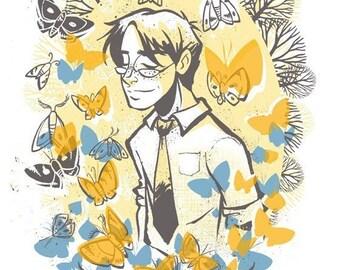 Flutter and Fly  -  Moths
