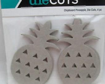 The paper studio pineapple die cuts