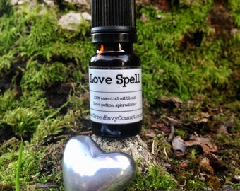 Love Spell- Essential oil blend, love potion, aphrodisiac,