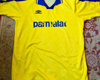 AC Parma Vintage Away Jersey Late 1980s Early 1990s