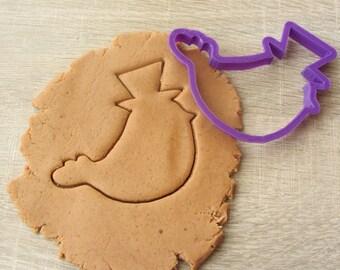 Bird man cookie cutter