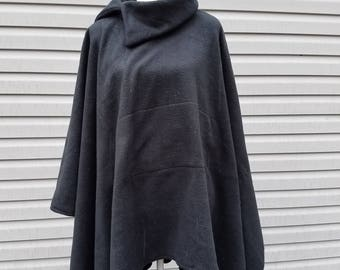 Black Fleece Poncho