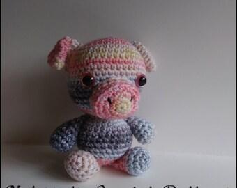 Ready to Ship ~ Hamilton the Huggable Pig