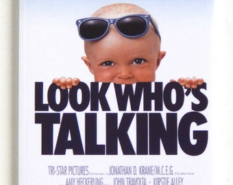 Look Who's Talking Movie Poster Fridge Magnet