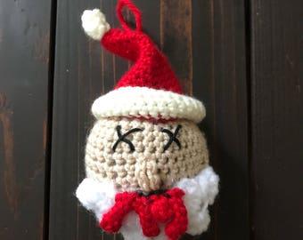 Dead Santa Ornament