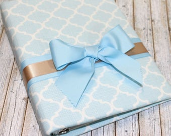 Baby blue Baby Shower Guest Book / Baby Shower Guest Book / Baby Boy Baby Shower / Light Blue Baby Shower / Baby Blue Guest Book / Baby Boy