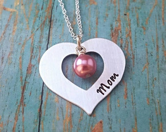 Mother's Necklace - Mom - Mom Necklace - New Mom - Gift for Mom - Mom Gift -Gift for Her - Mother's Day - Gift for Women - Birthday Gift