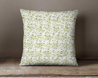 Cushion 45 x 45 cm floral pattern