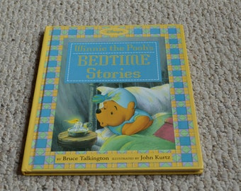 Winnie the Pooh's Bedtime Stories---By Disney Press---1st Edition From 1994