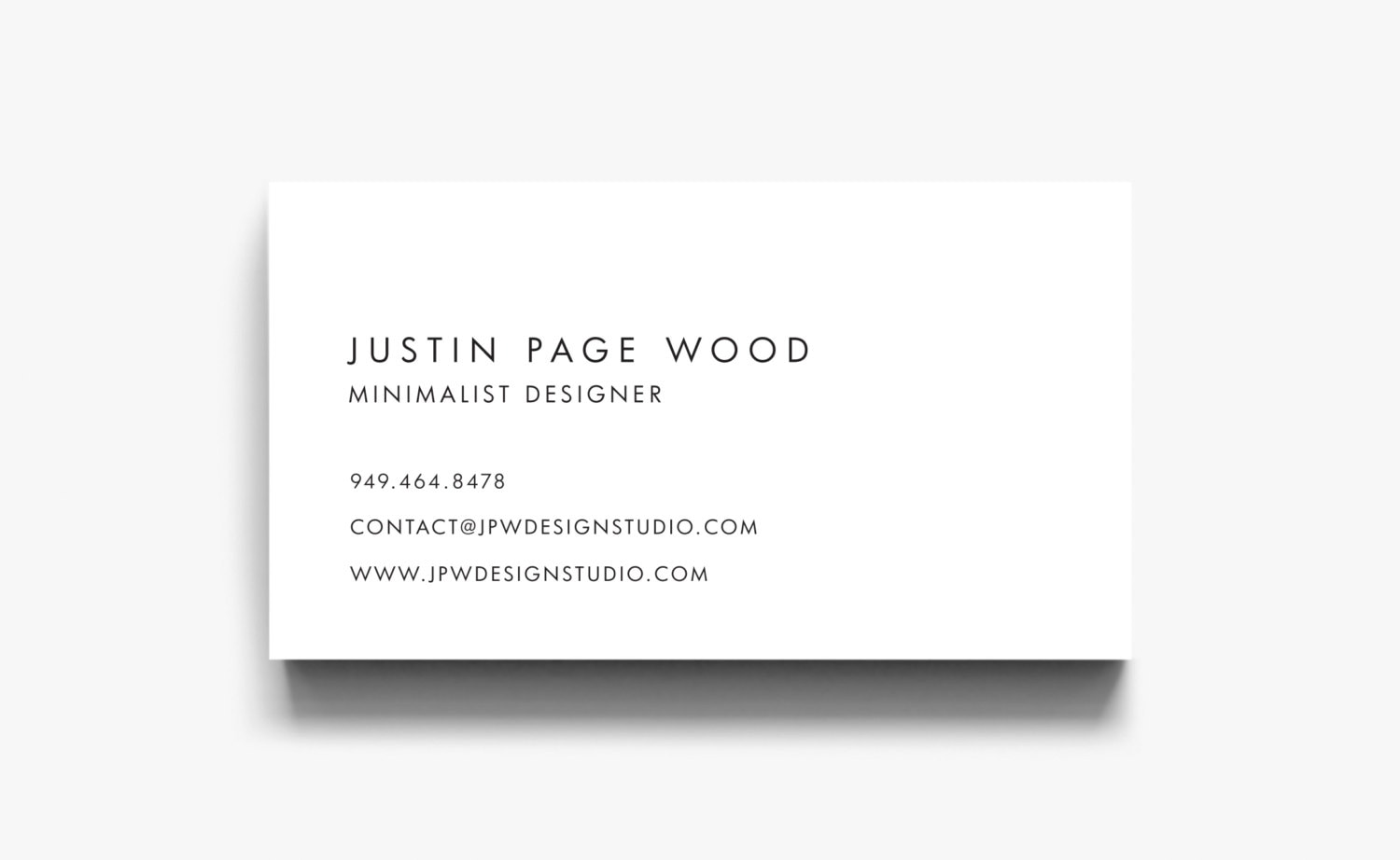 Business Card Design Business Card Template Calling Cards