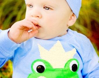 little prince princess baby boy girl chenille crown beanie hat nb-12m