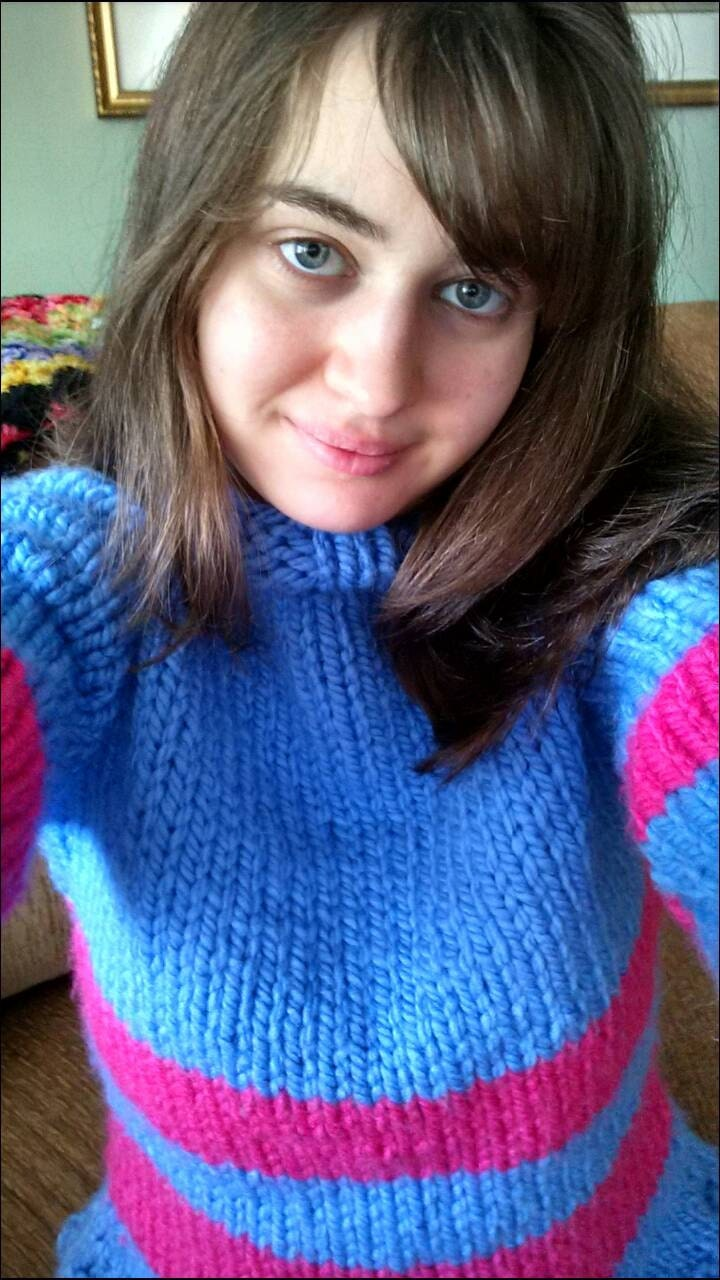 Frisk Sweater S M L Made to Order Video Game Protagonist