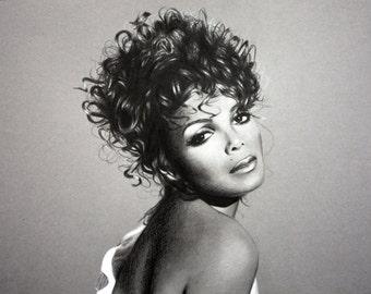 Janet Jackson Drawing
