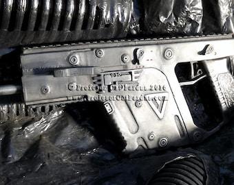 Resident Evil Retribution Kriss Vector Prop gun. Alice Primary weapon