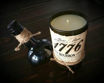 1776 Bourbon candle