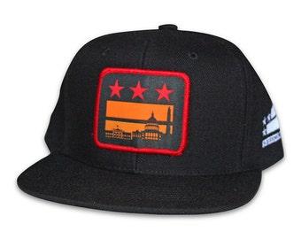 Washington DC Sunset Flag Hat