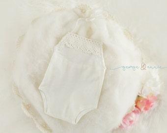 Matilda Romper - Newborn & Sitter Romper - Photography Prop - Baby Girl