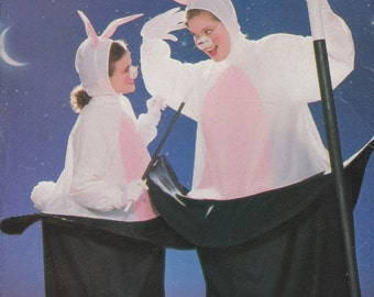 Rabbit in a Hat Costume Pattern Magic Men Women Adult One Size Uncut Butterick 6849 Bunny
