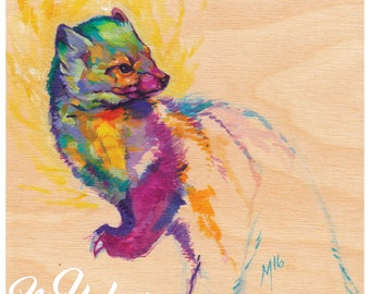 Print or Card: American Marten