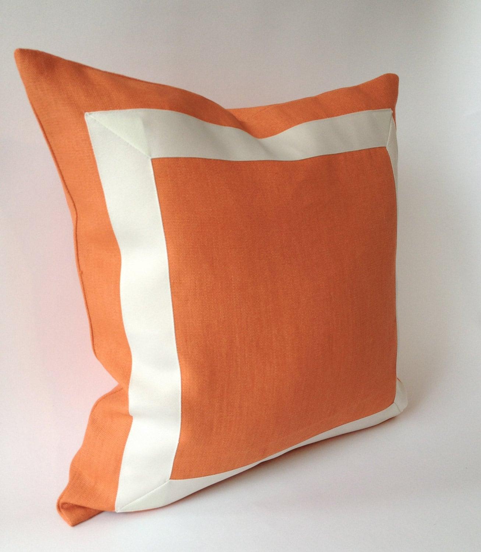 fe pillows kitchen perfect decor peach amazon pillow dp santa decorative com home keaton orange throw inch