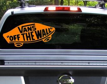 auto sticker vans