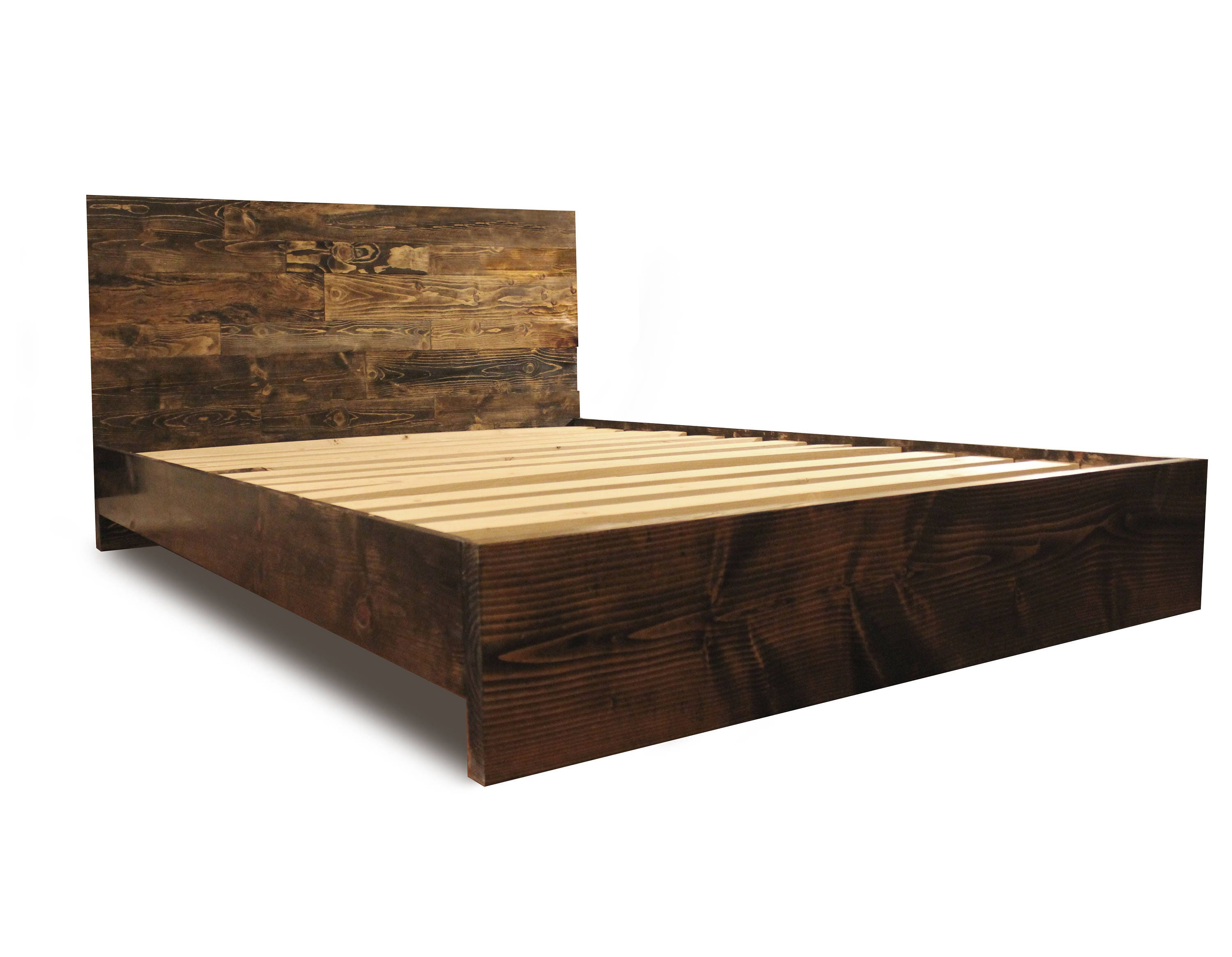 description this beautiful solid wood platform bed . wood platform bed frame and headboard simple bed frame