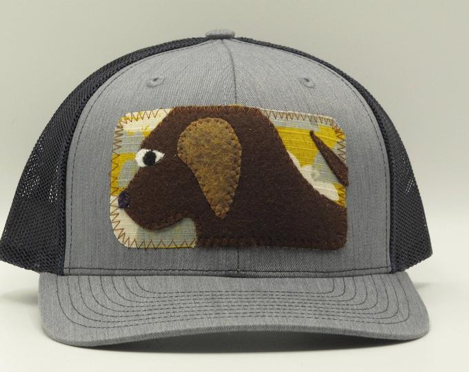 Big Brown Dog Baseball Hat/Trucker Hat