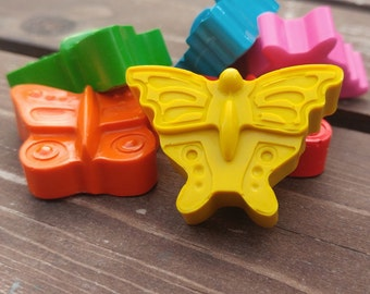 Butterfly Crayons Set of 24 - Butterfly Party Favors - Butterfly Birthday - Kids Gifts - Gifts For Kids - Class Favors - Kids Party Favors