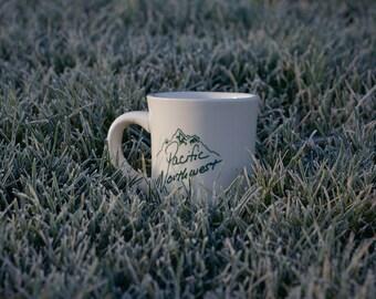 PNW Pacific Northwest Diner Mug Coffee Cup