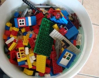 LEGO bricks and various