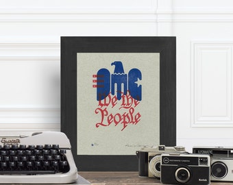 Fine Art We The People - 8x10