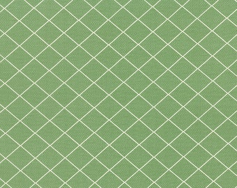 Bread N Butter Green by American Jane for Moda Fabrics- 221695 12, sandy klop fabric, green quilting fabric, american jane fabric