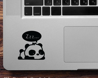 Panda Vinyl Decal Sticker Panda Car Decal Laptop Sticker