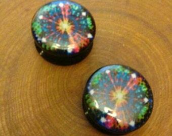 """7/8"""" cosmic ear plugs"""