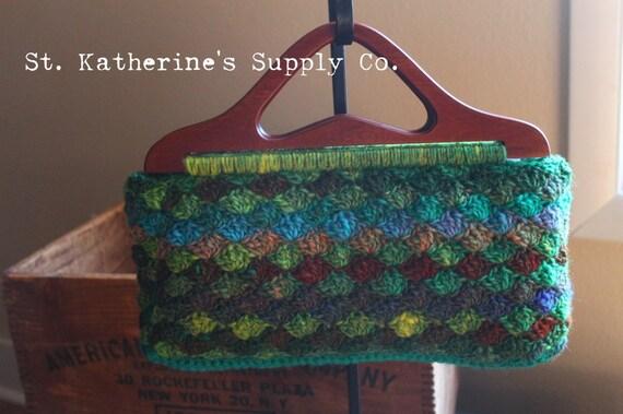 Pdf Crochet Pattern Garfield Park Conservatory Purse Pattern