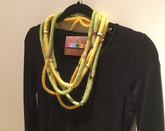 I-cord necklace