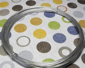 Mothers Day Sale Aluminium Silver Tone 22 Gauge Round Wire 50 Feet