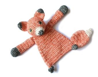 Baby Fox crochet amigurumi pattern PDF INSTANT DOWNLOAD
