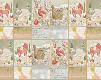 The Gatherers by Cori Dantini from the Winter News collection for Blend #112.117.02.1 by 2/3rd yard panel