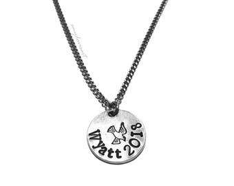 Personalized Confirmation Necklace, Christian Jewelry, Holy Spirit Dove Necklace, Confirmation Gift, Sacred Heart, Catholic Jewelry, RCIA