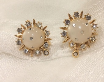 Early 1950's, Atomic Age, Earrings!