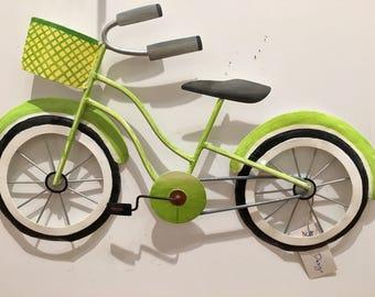 Beach Bike SGL Lime CA202