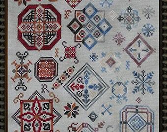 Fire and Ice PDF Cross Stitch Pattern