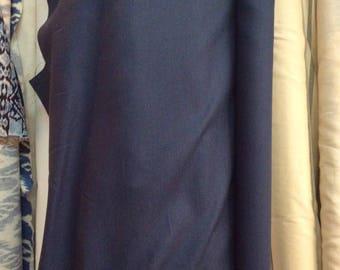 Livingston European Linen Indigo blue multipurpose fabric